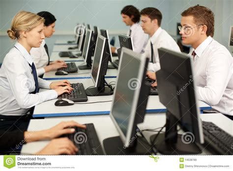 study room table computer work royalty free stock images image 14538789