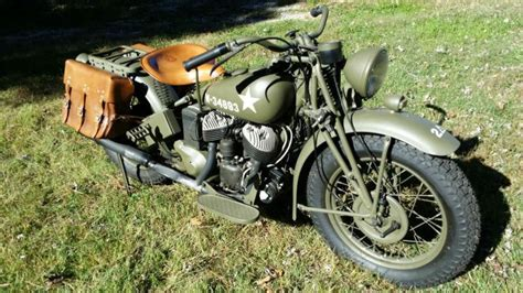 Wwii Indian Model 741 Military Motorcycle For Sale On 2040