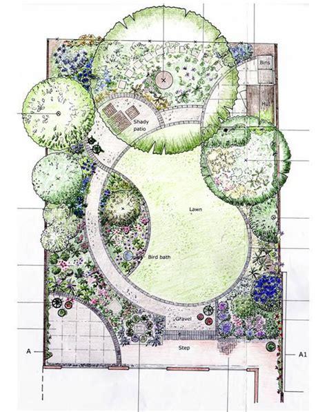 designing garden layout im loving  curves