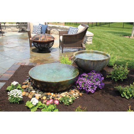 Aquascape Water Features by Aquascape Spillway Bowl Water Feature Walmart