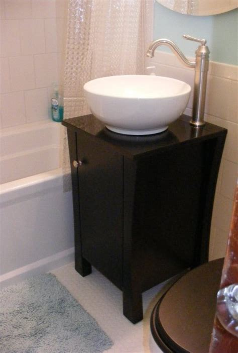 A wide variety of bathroom vanity vessel sinks options are available to you, such as project solution capability, design style, and color. Before and After: Cat-Approved Bathroom | D'oh!-I-Y