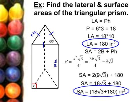 122 Surface Area Of Prisms & Cylinders  Ppt Video Online