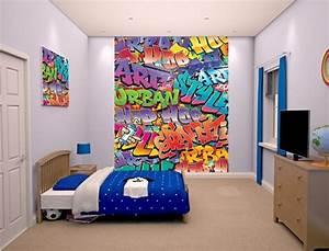 Graffiti Für Kinderzimmer : 40 coole dekoideen mit graffiti im zimmer ~ Sanjose-hotels-ca.com Haus und Dekorationen