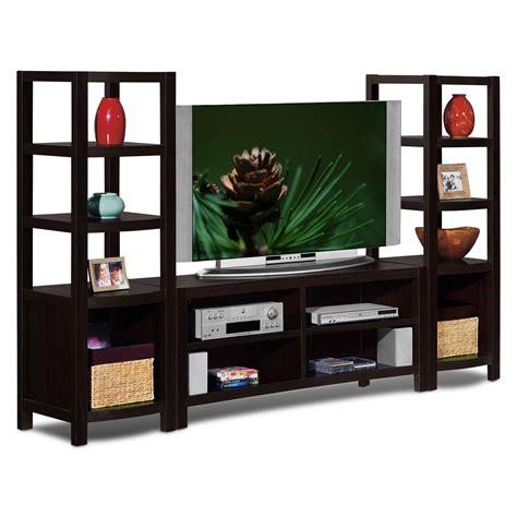 saginaw on wall units furniture keene 3 pc entertainment wall unit furniture com