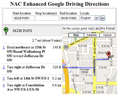 yahoo maps driving directions google map images frompo
