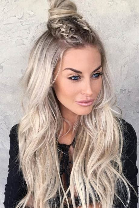 different hairstyles for long thick hair