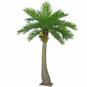 5 5M Artificial Coconut Tree With 20 Leaves - Dongyi
