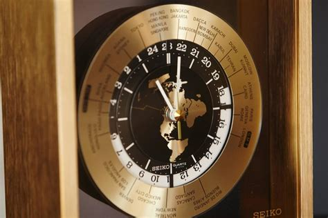 world time zone desk clock automatic world time brass desk clock 25 time zones at