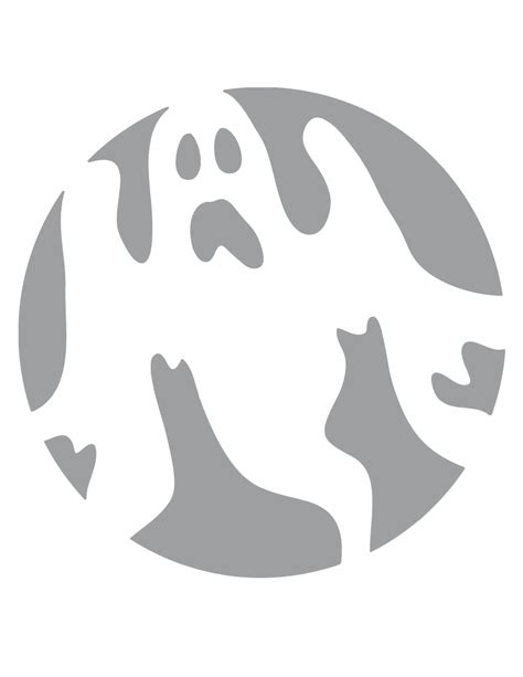 free pumpkin carving templates printable 6 best images of ghost stencils printable ghost stencils ghost templates