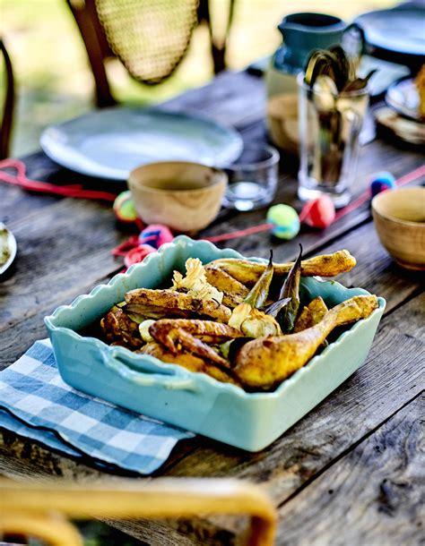 volaille en cuisine poulet en crapaudine au curcuma pour 4 personnes