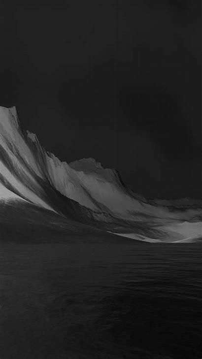 Abstract Lg Iphone Mountain Dark Flex Digital