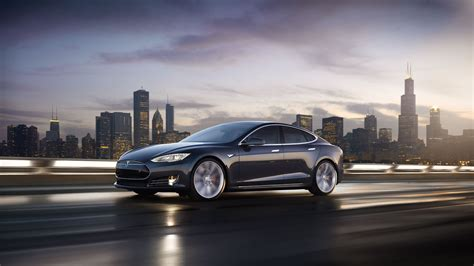 Tesla Car Wallpaper by Tesla Model S Electric Car In Wallpapers And Images