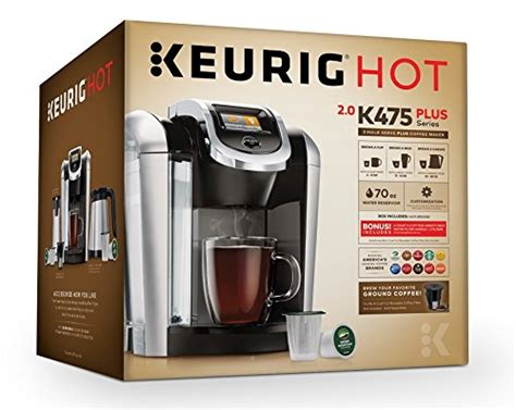 Keurig K475 Single Serve Programmable K- Cup Pod Coffee Coffee Station Office Free At Dunkin Spyhouse Email Burley Best Gifts For Lovers Uk Dimensions Valentine's A Lover Design