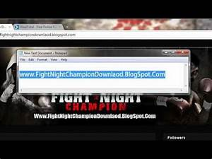 How To Download Fight Night Champion Redeem Code Free