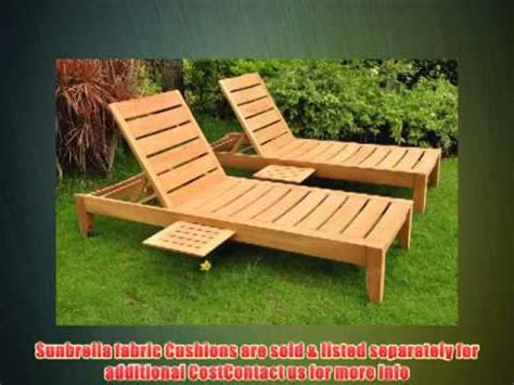 chaise haute multiposition grade a teak wood luxurious multi position sun chaise