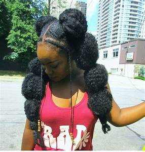 12 Gorgeous Must See Bubble Ponytail Styles On Natural Hair