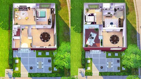 simple sims floor plans ideas the house of clicks sims 4 houses