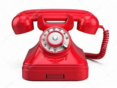 Phone Retro Telefono Rosso Telefon Rode Rotes