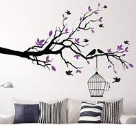 Wall Stickers Decoration Artistic Bird Cage Wall Art Sticker Vinyl Wall Decals Wall Stickers Home Decor