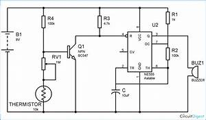 Fire Alarm Using Thermistor  U2013 Technology  U0026 Hacking