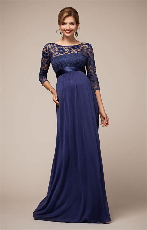 Lucia Maternity Gown Windsor Blue - Maternity Wedding ...