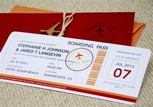 boarding pass wedding invitation template wedding and With free printable boarding pass wedding invitations