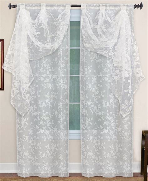 Macys Curtains And Window Treatments by Elrene Window Treatments Berkshire Collection Curtains