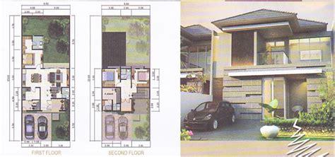 tampak depan rumah lebar  meter gambar rumah idamancom
