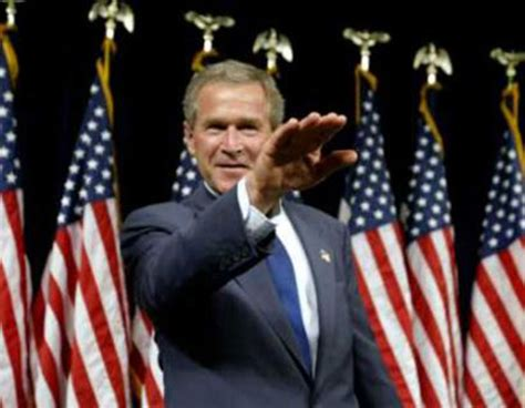 Illuminati Bush by George W Bush Salute Illuminati Symbols