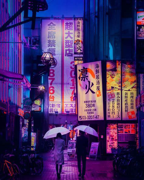 lluvia de neones las fotografias nocturas de tokio de liam