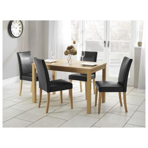 buy banbury  seat set oak   dining table chair sets range tescocom