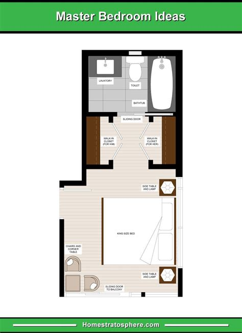 Master Bedroom With Bathroom Floor Plans by 13 Master Bedroom Floor Plans Computer Drawings