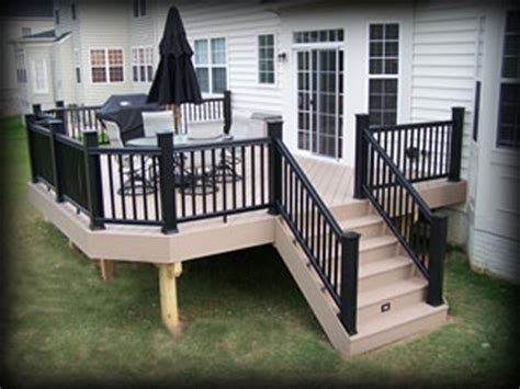 Armadillo Decking Vs Trex by Materials Casey Fence And Deck Llc Award Winning