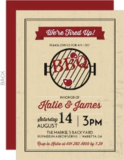 cheap bbq invitations invite shop purpletrail