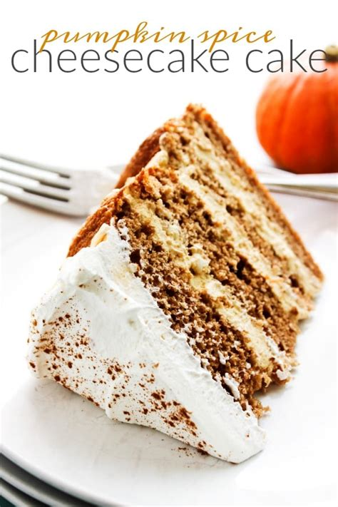pumpkin spice cheesecake cake  dash  sanity
