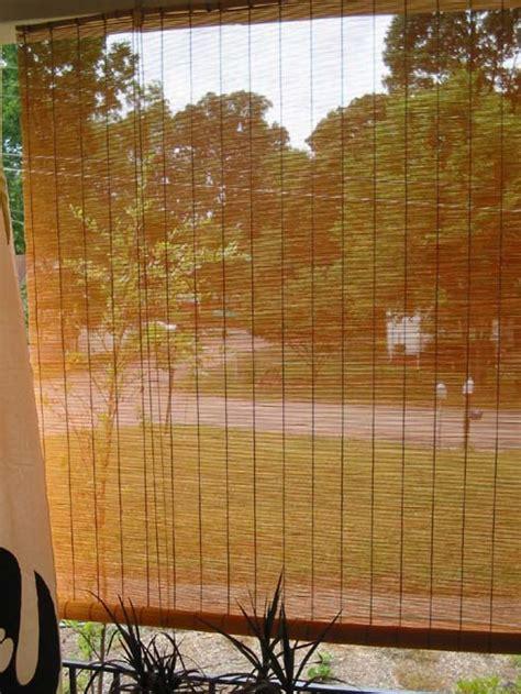 bamboo shades  porches bamboo valance photo
