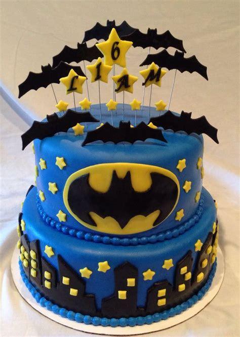 pasteles  fiesta de batman  decoracion de fiestas