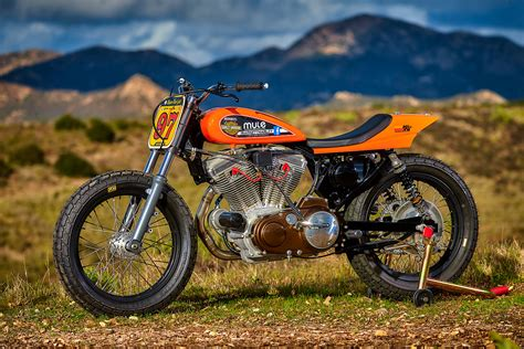 Rarely Legal. Mule Motorcycles' Track-only Harley Super