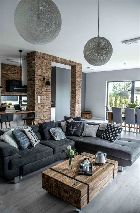 outstanding grey living room designs