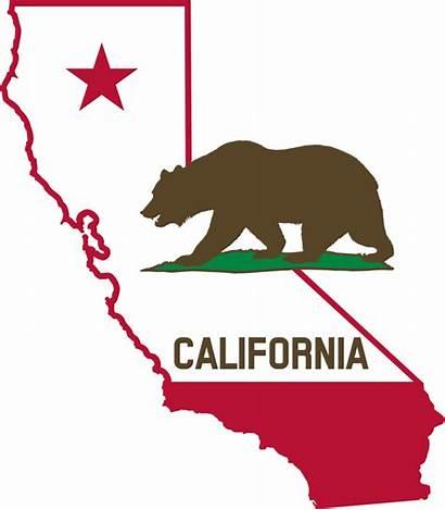 California United Economy Largest 5th Moving Flag