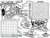 Menu Restaurant Kid Coloring Placemat Brandy Tees Activities Cartoon sketch template
