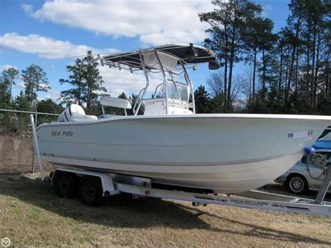 Used Fishing Boats For Sale In Nc by 2004 Used Sea Pro 220cc Center Console Fishing Boat For
