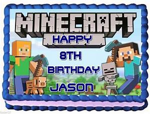 Minecraft Cake Toppers Pictures