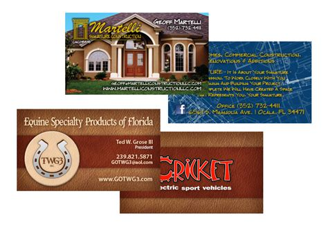 printing business cards gainesville    print
