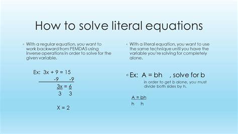 Literal Equations Solver Tessshebaylo