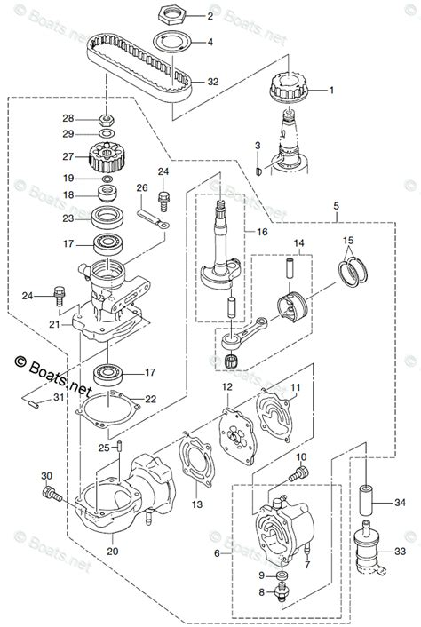 tohatsu 2011 md40b2 tldi tohatsu oem parts diagram for air compressor boats net