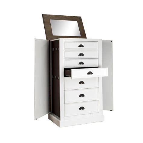 meuble billot cuisine commode à bijoux meuble de rangement en bois
