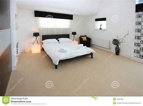 photo de chambre de luxe intérieur de luxe moderne de chambre à coucher image stock