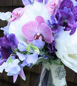 Purple and Silver Wedding Flowers | Petalena: Creative ...