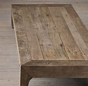 22 best gh living room images on pinterest open With restoration hardware reclaimed wood coffee table
